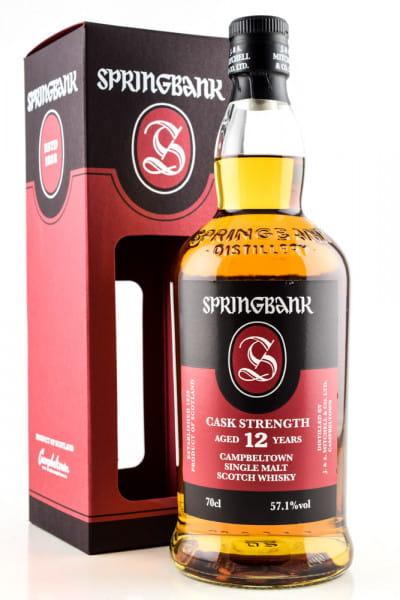 Springbank 12 Jahre Cask Strength 57,1%vol. 0,7l