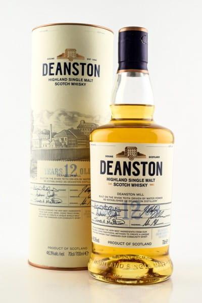 Deanston 12 Jahre 46,3%vol. 0,7l
