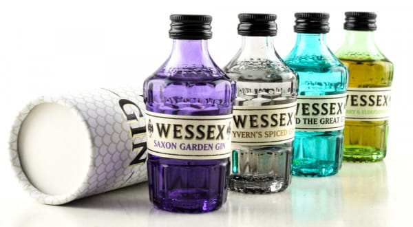 Wessex Gin Giftset 4x 0,05l