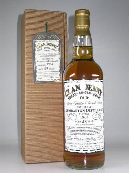 Dumbarton 43 Jahre 1964 Clan Denny 51,8%vol. 0,7l