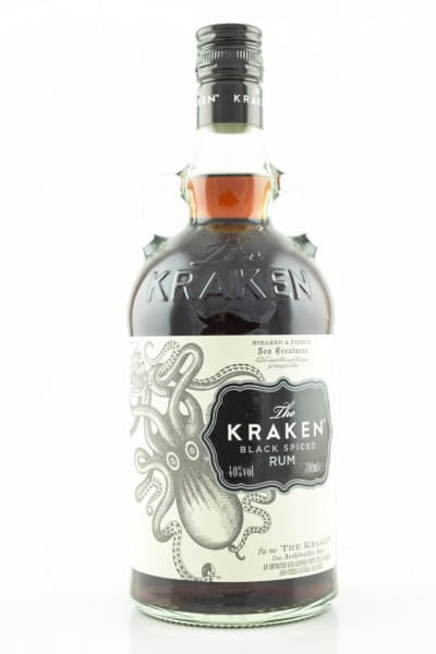 The Kraken - Black Spiced Rum 40%vol. 0,7l