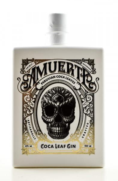 Amuerte Coca Leaf Gin White Edition 43%vol. 0,7l