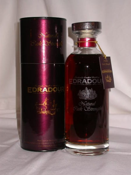 Edradour Natural Cask strength 1993/2006 60,2%vol. 0,7l