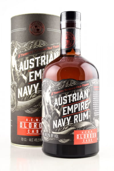 Austrian Empire Navy Rum Oloroso Cask 49,5%vol. 0,7l