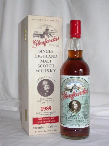 *Glenfarclas 1989/2006 Ed. No.11 Robert the Bruce 46%vol. 0,7l