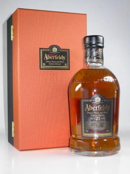 Aberfeldy 21 Jahre - Limited Bottling 40%vol. Sample 0,05l