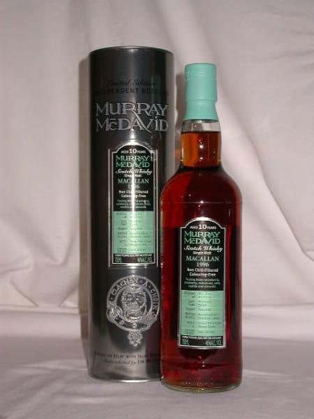 Macallan 1996/2007 Bourbon/Syrah Murray McDavid 46%vol. 0,7l