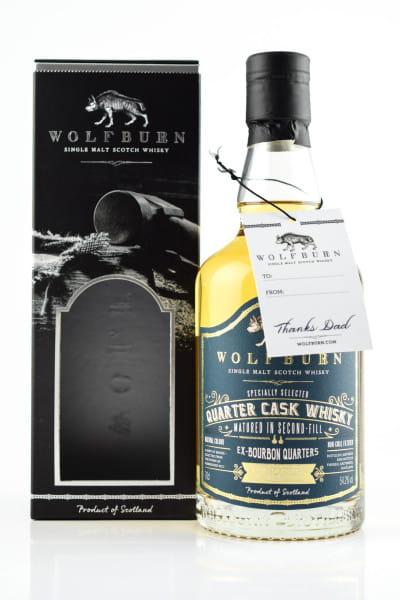 Wolfburn Quarter Cask Whisky 54,2%vol. 0,7l