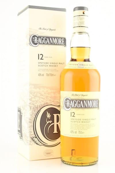 Cragganmore 12 Jahre 40%vol. 0,7l