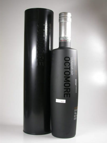 Octomore Edition: 01.1 5 Jahre 131ppm 63,5%vol. Sample 0,05l