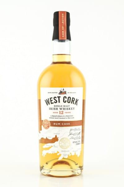 West Cork 12 Jahre Rum Cask 43%vol. 0,7l