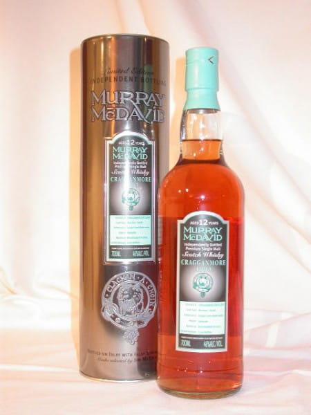 Cragganmore 1993/2005 Bourbon/Syrah Murray McDavid 46%vol. 0,7l