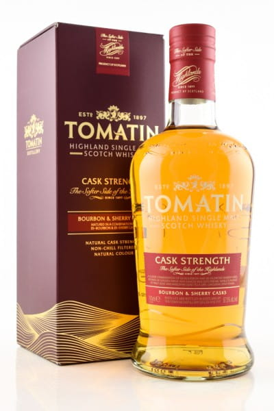 Tomatin Cask Strength 57,5%vol. 0,7l