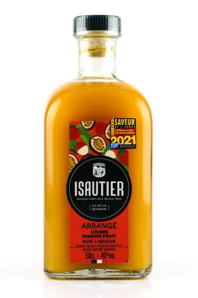 Isautier Arrangé Lychee Passion Fruit Liqueur 40%vol. 0,5l