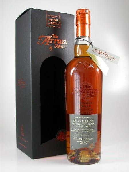 Arran St Emilion Wine Cask 50%vol. 0,7l
