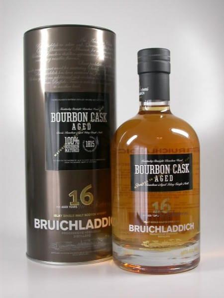 Bruichladdich 16 Jahre Bourbon Cask Aged 46%vol. Sample 0,05l