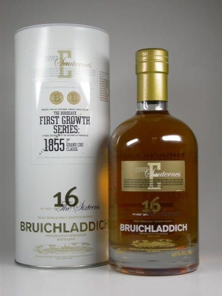 Bruichladdich First Growth Series 16 Jahre Cuvee E Sauternes 46%vol. 0,7l