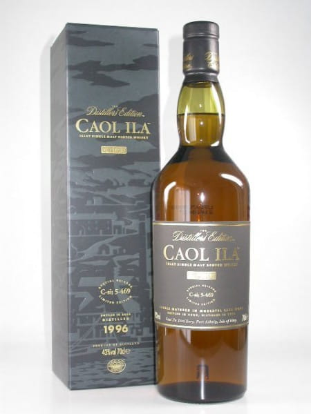 Caol Ila 1996/2009 Distillers Edition 43%vol. 0,7l