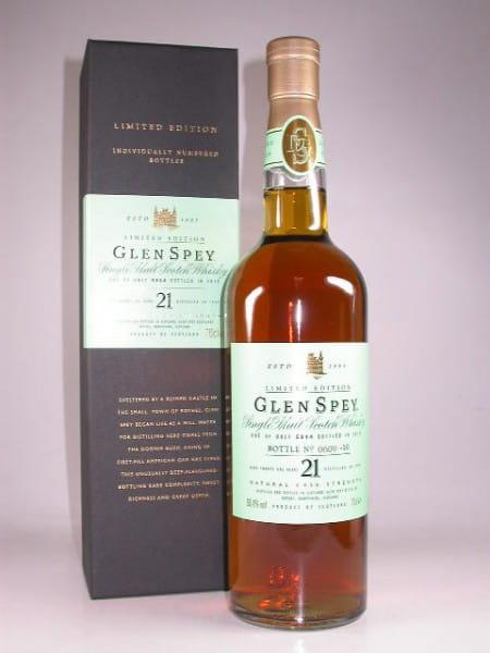 Glen Spey 21 Jahre 1989/2010 50,4%vol. 0,7l