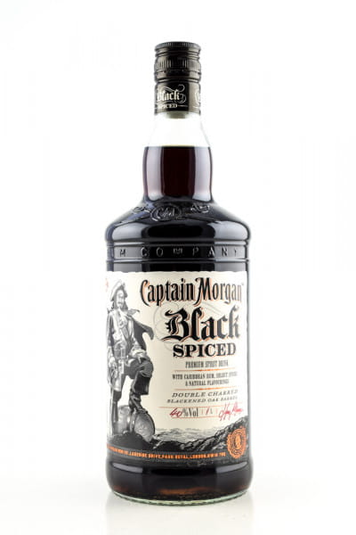 Captain Morgan Black Spiced 40%vol. 1,0l