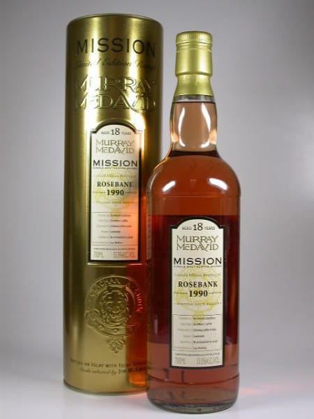 Rosebank 1990/2008 Murray McDavid Gold Series 53,5%vol. 0,7l