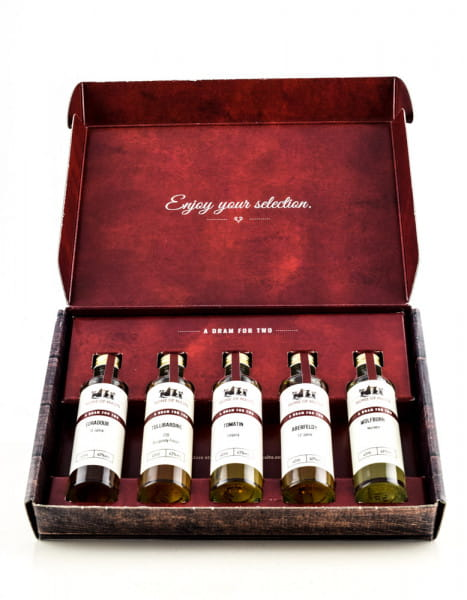 Tasting Selection Highlands Whisky 5 x 0,04l
