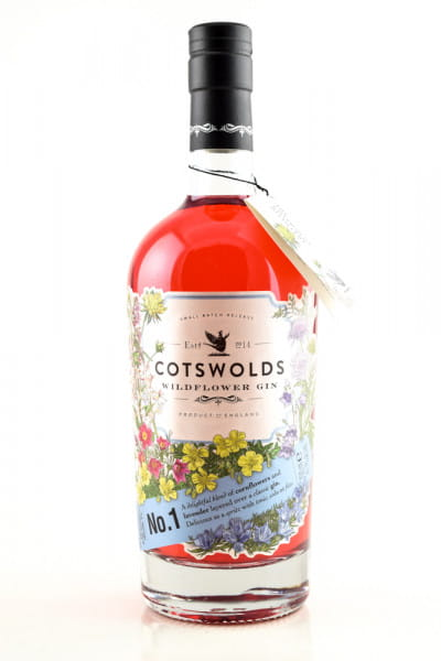 Cotswolds Wildflower Gin 41,7%vol. 0,7l