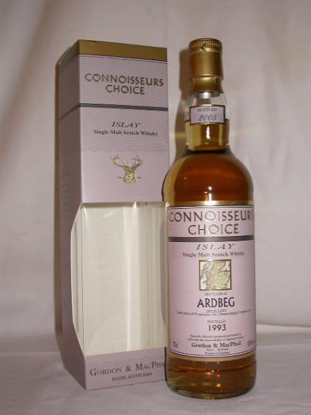 Ardbeg 93/05 Fresh-Sherry Gordon & MacPhail Connoisseurs Ch. 43%vol. 0,7l