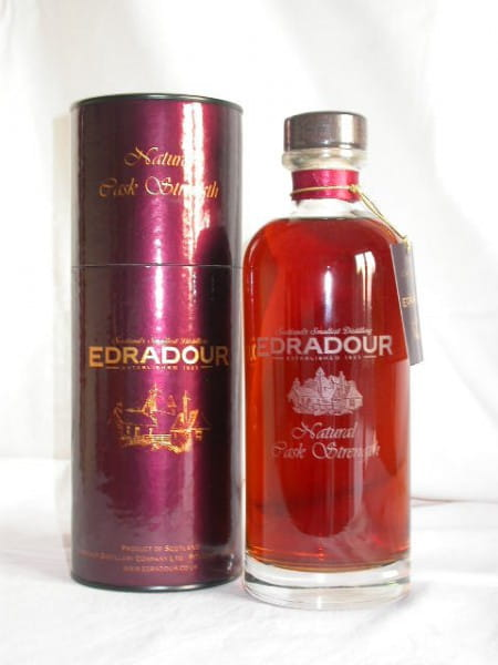 Edradour Natural Cask strength 1991/2004 59,5%vol. 0,7l