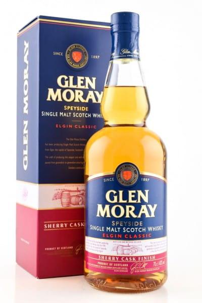 Glen Moray Sherry Cask Finish 40%vol. 0,7l