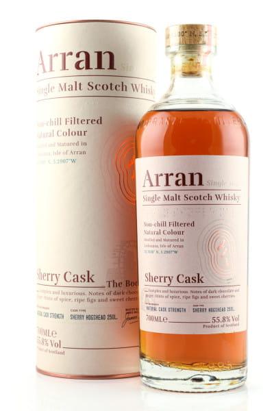 Arran Sherry Cask - The Bodega 55,8%vol. 0,7l