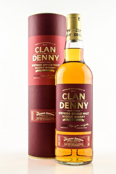 Speyside Edition Single Malt Clan Denny 43%vol. 0,7l