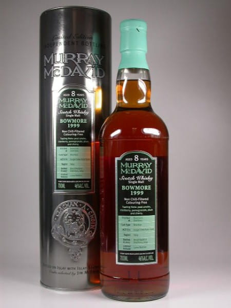 Bowmore 1999/2007 Bourbon/Syrah Murray McDavid 46%vol. Sample 0,1l