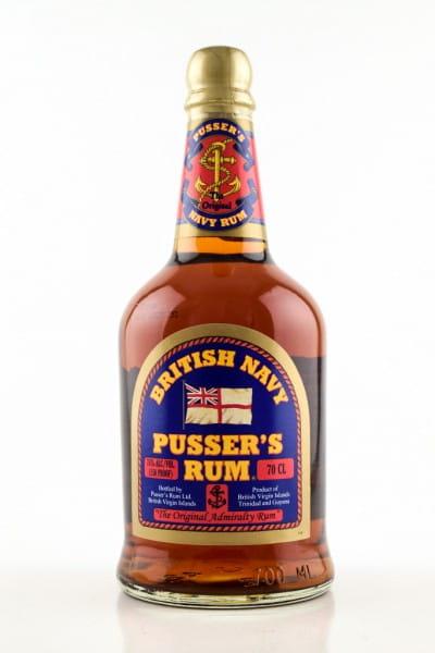 Pusser's British Navy Overproof 75%vol. 0,7l