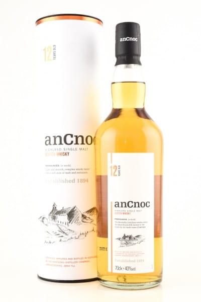 anCnoc 12 Jahre 40%vol. 0,7l