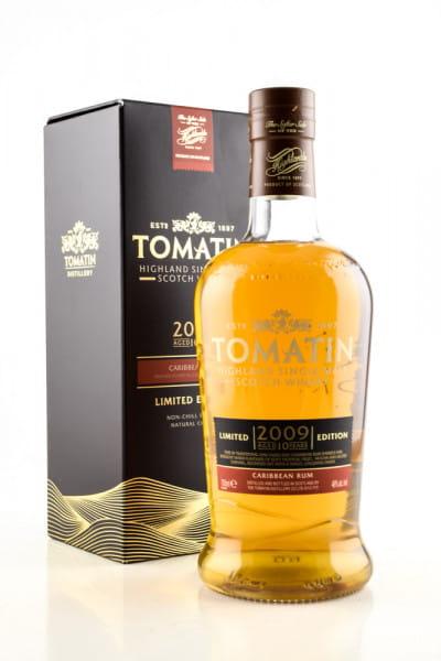 Tomatin 10 Jahre 2009/2019 Caribbean Rum 46%vol. 0,7l