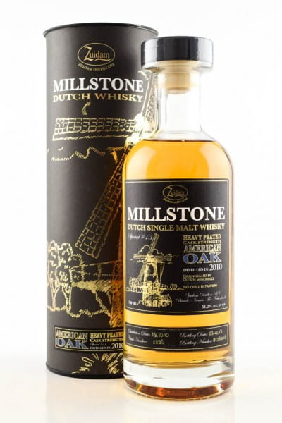 Millstone 2010 Heavy Peated Cask Strength 51,2%vol. 0,7l