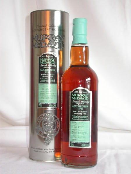 Auchroisk 1992/2007 Bourbon/Syrah Murray McDavid 46%vol. 0,7l