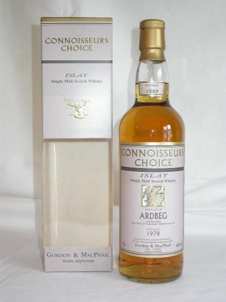 Ardbeg 1978/1999 G&M Connoisseurs Choice 40%vol. 0,7l
