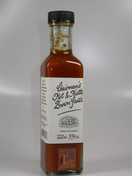 Chairman's Hot & Nutty Brown Sauce 220ml