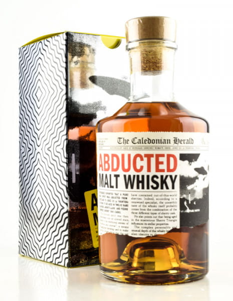 Abducted Malt Whisky 40%vol. 0,7l