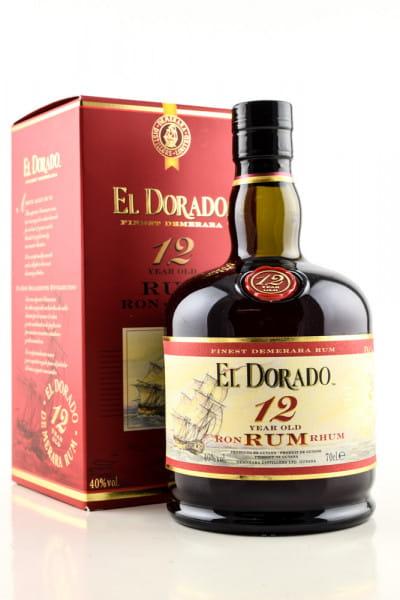 El Dorado 12 Jahre 40%vol. 0,7l