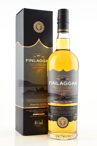 Finlaggan Cask Strength 58%vol. 0,7l