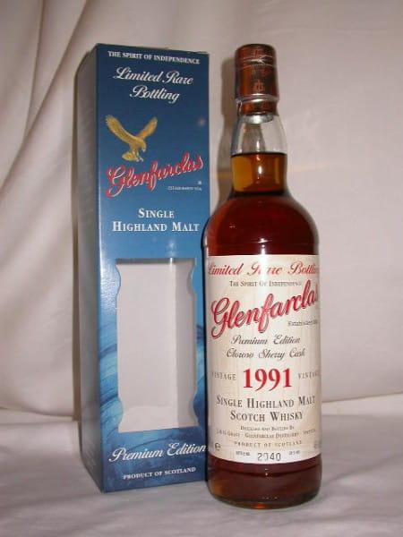 Glenfarclas 1991/2007 Oloroso Sherry Cask 46%vol. 0,7l