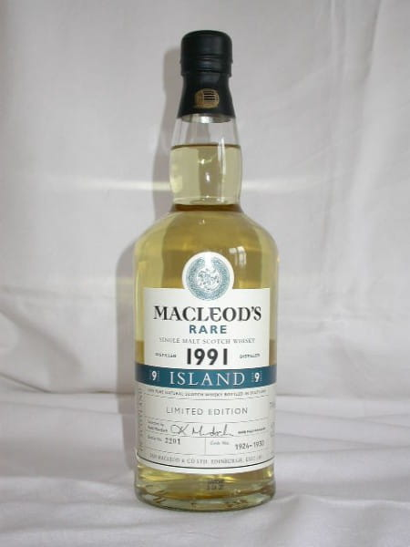 MacLeod's Rare 1991 Cask No. 1924-1930 (Talisker) 43%vol. 0,7l