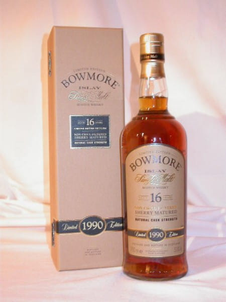 Bowmore 16 Jahre 1990/2006 Oloroso Matured 53,8%vol. 0,7l
