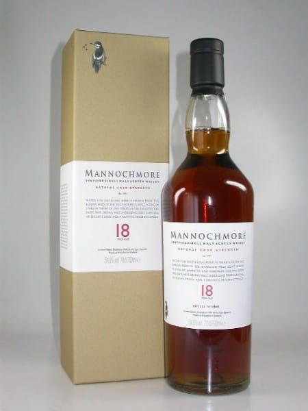 Mannochmore 18 Jahre Natural Cask Strength 54,9%vol. 0,7l