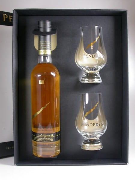 Penderyn AC Single Malt Welsh Whisky 46%vol. 0,35l + 2 Gläser