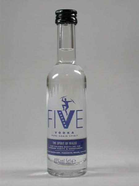 Brecon Five Vodka 40%vol. 0,05l