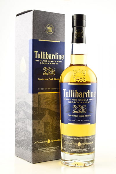 Tullibardine 225 Sauternes Finish 43%vol. 0,7l